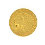 1909 $2.50 Indian Head Gold Coin