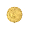 Extremely Rare 1909 $2.50 U.S. Indian Head Gold Coin