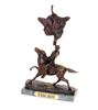 Buffalo Signal- By Frederic Remington- Bronze Reissue