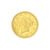 Extremely Rare 1854 $1 U.S. Liberty Head Gold Coin