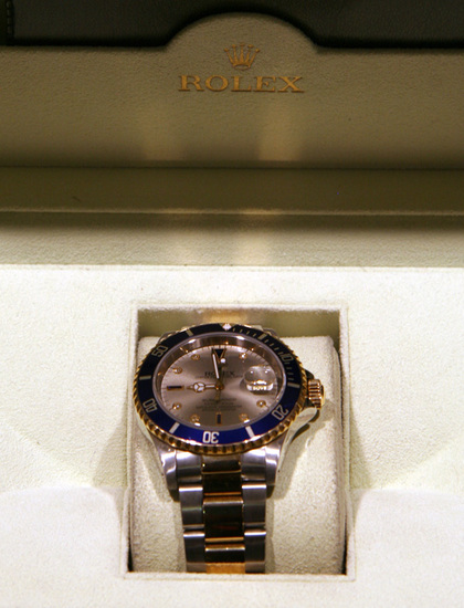 *Rolex Two Tone Submarine - Original Box and Papers -P-