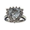 APP: 2.3k Fine Jewelry 2.55CT Beryl Aquamarine And Topaz Sterling Silver Ring