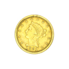 Extremely Rare 1851-O $2.50 U.S. Liberty Head Gold Coin