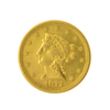 1877-S. $2.50 Liberty Head Gold Coin