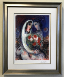*Interpretation of Works by Marc Chagall, Limited Edition ''''Marriage'''' Photomechanical Reproduct