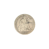 1888 Liberty Seated Dime Coin