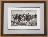 *Rare Giclee Limited Edition 04 by Fredrick Remington Plate Signed Great Investment