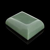 APP: 8.1k 678.00CT Rectangle Cut Green Guatemala Jade Gemstone