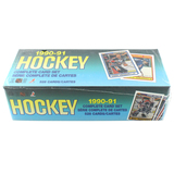 Rare 1990-91 Un-Opened Box Complete Card Set Hockey Cards 528 Cards Per Box