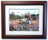 Wooster Scott - ''''Where Dreams Come True'''' Framed Giclee Original Signature & Numbered Editon