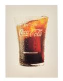 Collectable Coca Cola Advertising Poster/Card (3'' x 4'')
