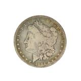 Rare 1884-S U.S. Morgan Silver Dollar