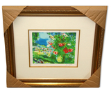 Chagall (After) 'Paysage' Museum Framed Giclee-Limited Edition
