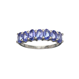 APP: 1.5k Fine Jewelry 1.75CT Oval Cut Tanzanite Over Sterling Silver Ring