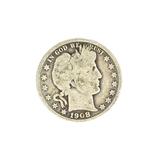 1908-O Barber Head Half Dollar Coin