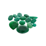 APP: 7.5k 100.47CT Various Shapes Green Emeral Parcel- Great Investment-