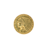 1910 $2.50 U.S. Indian Head Gold Coin (JG N)
