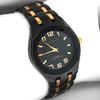 Paul Jardin  Men's Black and Copper Watch
