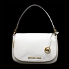 Gorgeous Brand New Never Used Opal White Michael Kors Medium Convertable Shoulder Tag Price $328.00