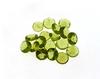 APP: 3k 20.50CT Round Cut Green Peridot Parcel