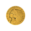 1910 $5 U.S. Indian Head Gold Coin - Great Investment