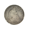 Rare 1876 Liberty Seated Half Dollar Coin