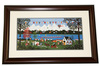 Wooster Scott- Framed-Signed ''Regatta on the Potomac''
