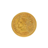 Extremely Rare 1878 $2.50 U.S. Liberty Head Gold Coin