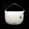Gorgeous Brand New Never Used Opal White Michael Kors Medium Crescent Tag Price $328.00