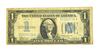 1934 $1 Silver Certificate Funny Back