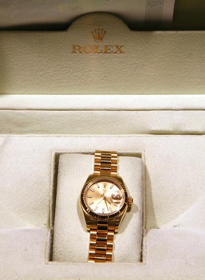 *Rolex Ladies President - Original Box and Papers -P-
