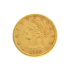 Extremely Rare 1882 $5 U.S. Liberty Head Gold Coin