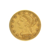 Extremely Rare 1881 $5 U.S. Liberty Head Gold Coin