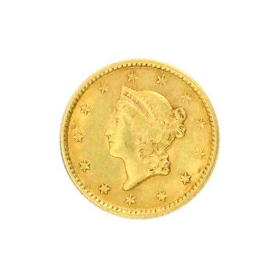 Rare 1851 $1 U.S. Liberty Head Gold Coin
