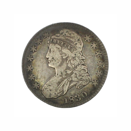 Rare 1830 Capped Bust Half Dollar Coin