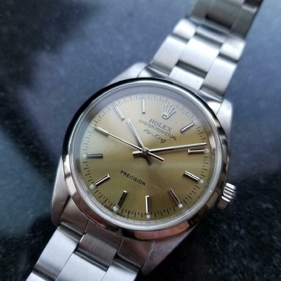 *ROLEX Men's Oyster Precision ''''Air-King'''' Automatic 1999 Swiss Watch