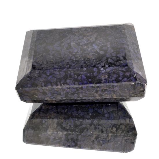 APP: 18.6k 5,756.00CT Rectangle Cut Blue Sapphire Gemstone