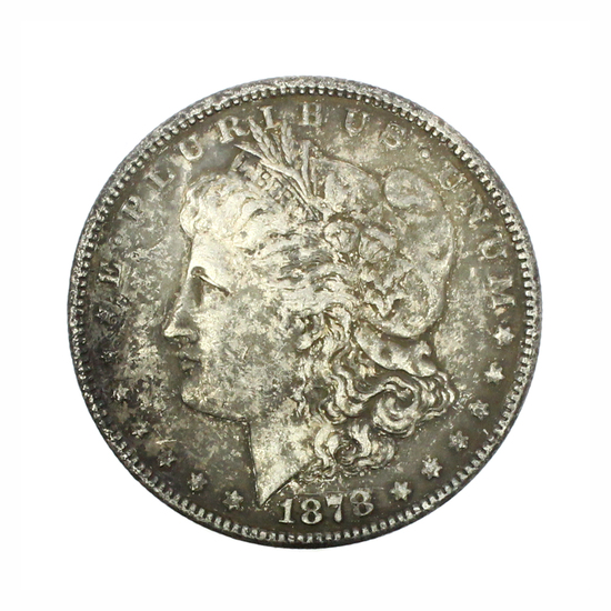 Rare 1878-CC Morgan Silver Dollar Coin