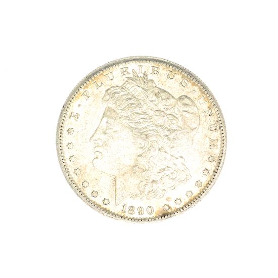 1890-S U.S. Morgan Silver Dollar Coin