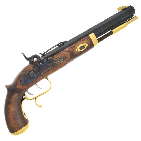 .50 Cal Blued Barrel Trapper Pistol (No Gun Sales To: NY, HI, AK.)
