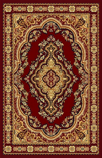 Gorgeous 8x10 Emirates Burgundy Rug Plush, High Quality  (No Rugs Sold Out Of Country)