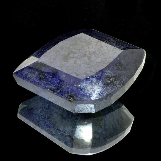APP: 10.4k 2,612.50CT Freeform Cut Blue Sapphire Gemstone