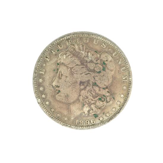 1896-O U.S. Morgan Silver Dollar Coin