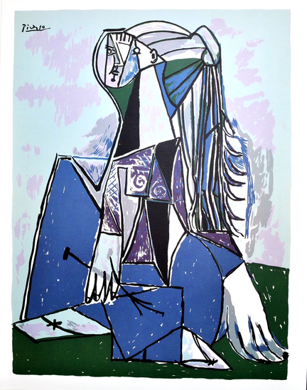 PABLO PICASSO (After) The Thinker Print, 28 of 500