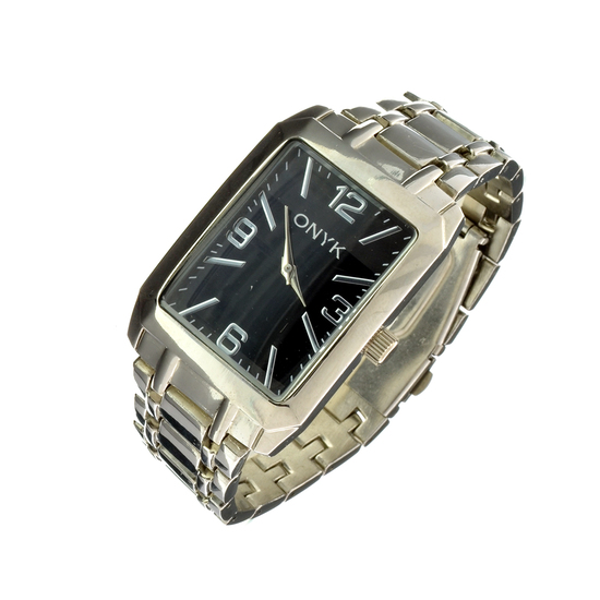 New Mens Onyx Designer Watch