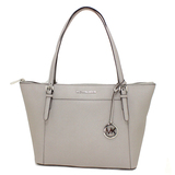 Gorgeous Brand New Never Used Pearl Gray Michael Kors Large TZ Tote Bag Tag Price $398