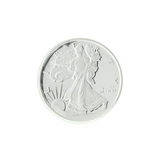 Extremely Rare  1/10 oz .999 Walking Liberty Silver Round Coin - Great Investment