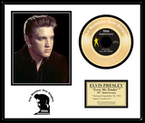 ELVIS PRESLEY ''Love Me Tender'' Gold 45-50th Anniversary
