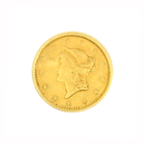 Rare 1852 $1 U.S. Liberty Head Gold Coin