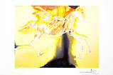 SALVADOR DALI (After) Pegasus Print, I436 of 500